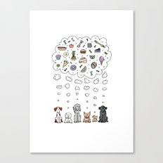 Pup Dreams Canvas Print
