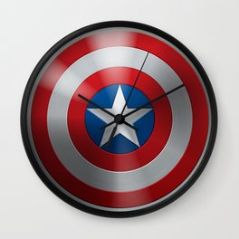Captain Winter Soldier Wall Clock