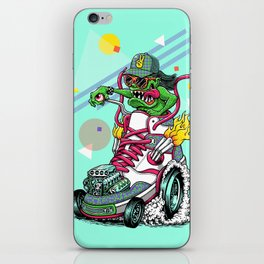 RIDE IT, KICK IT! iPhone Skin