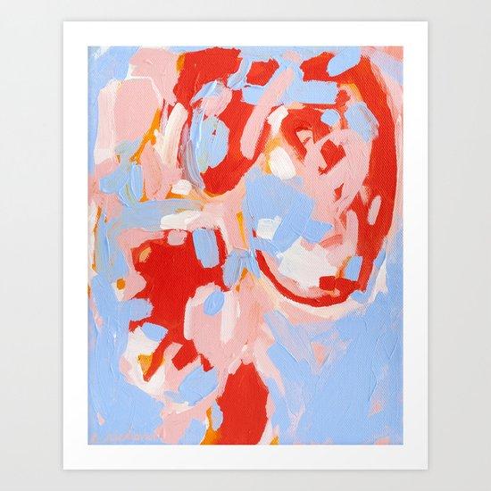 Color Study No. 8 Art Print