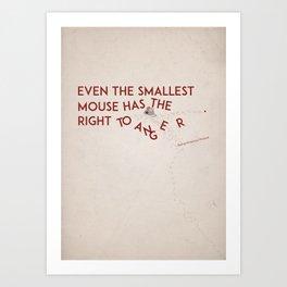 Smallest Mouse Art Print