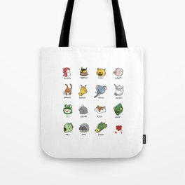 Hotline Kawaii Tote Bag