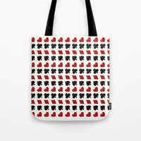 suits Tote Bags featuring Card Suits by •ntpl•
