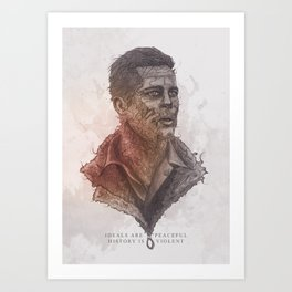 "Don ""wardaddy"" Collier Tribute Art Print"