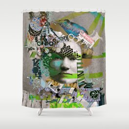Hoodoo Heroine Shower Curtain