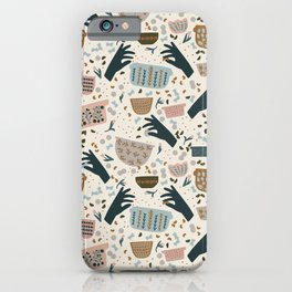Mother's Hands iPhone Case