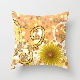 Serpentarium Throw Pillow