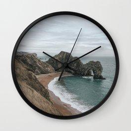 Durdle Door, Wareham, United Kingdom Wall Clock