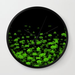 Invaded II Wall Clock