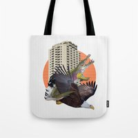 cage Tote Bags featuring Cage home by Lerson