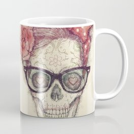 Hipster Girl is Dead Coffee Mug