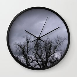 Dusk in the Valley Wall Clock