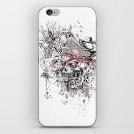 Skull Pirate - arrr, matey! iPhone Skin