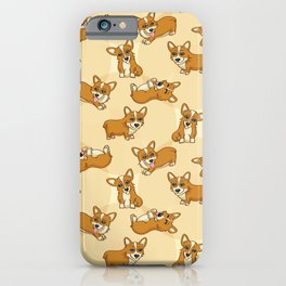 Corgis - Cream iPhone Case
