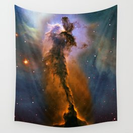 Stellar Spire in the Eagle Nebula Wall Tapestry