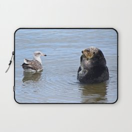 otter and gull Laptop Sleeve