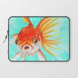 A Goldfish Kind of Day Laptop Sleeve