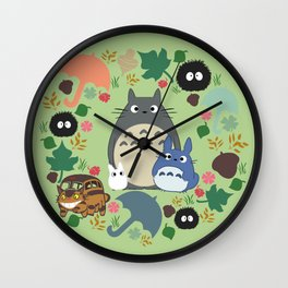 Troll Wreath Wall Clock