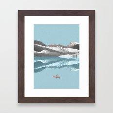 No River Wide Enough Framed Art Print