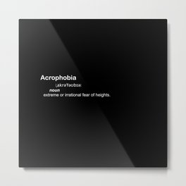 acrophobia Metal Print