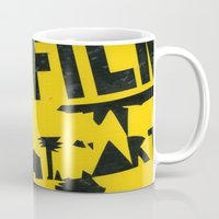 2001 Mugs featuring hfi SIGN 2001 by David Hinnebusch