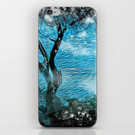 Magical ocean landscape iPhone Skin