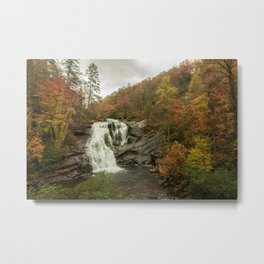 Bald River Falls, Cherokee Nation Forest (3/3) Metal Print