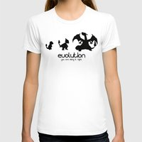 evolution T-shirts featuring evolution by Ainy A.