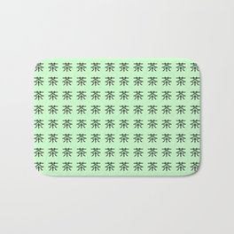 chinese ideogram: the tea 3 Bath Mat