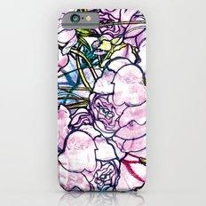 Rose bushes iPhone 6s Slim Case