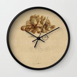 Coconut Cookies Wall Clock