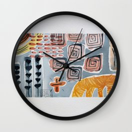 Farmland 2 Wall Clock