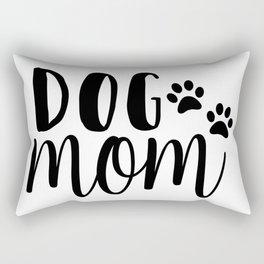 Dog Mom Rectangular Pillow