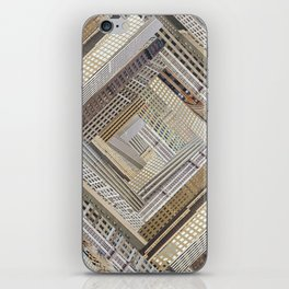 Skyscraper Quilt iPhone Skin
