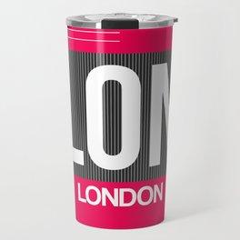 LON London Luggage Tag 2 Travel Mug