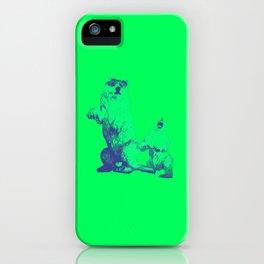 Ours Republique green iPhone Case