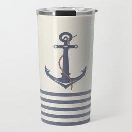 AFE Dark Gray Nautical Anchor Travel Mug