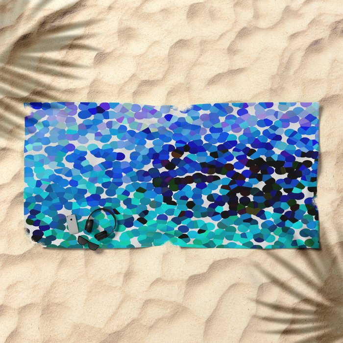 FANTASY-FOREVER IN BLUE DREAMS Beach Towel