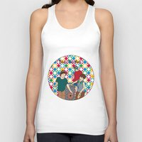 blues brothers Tank Tops featuring New Blues Brothers by Vasina Reginiano