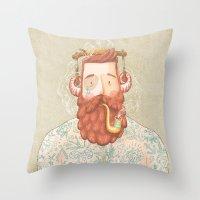 music Throw Pillows featuring Music by Seaside Spirit