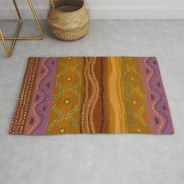 Caribbean Batik Tie Dye Rug