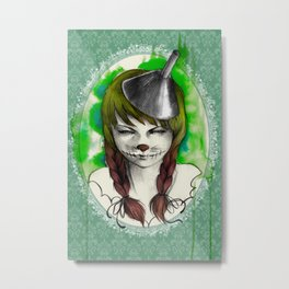 Story Serie - The Wizard of Oz Metal Print