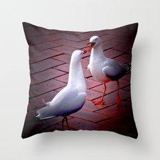 Gossip Throw Pillow