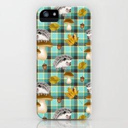 Hedgehogs iPhone Case