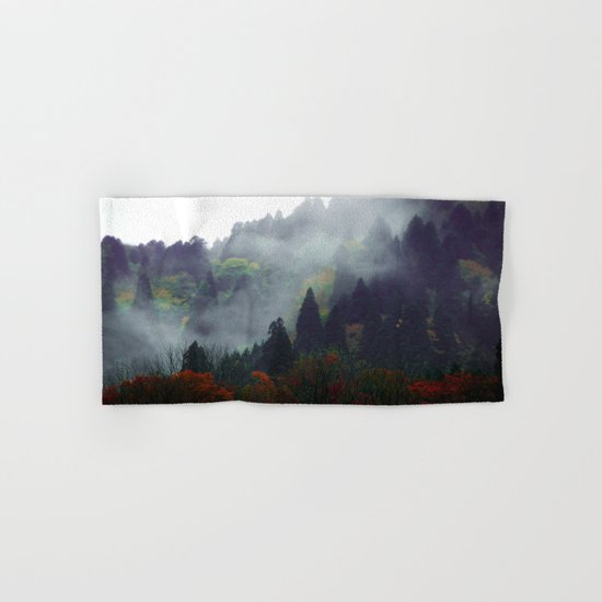 Forest Vibes Hand & Bath Towel