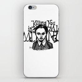 Killing You in My Mind iPhone Skin