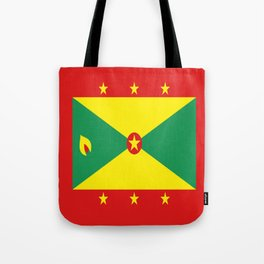 Grenada Flag Throw design Tote Bag
