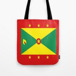 Grenada Flag Throw design Tote Bag
