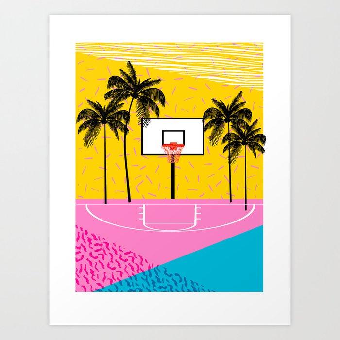 Dope - memphis retro vibes basketball sports athlete 80s throwback ...