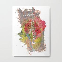The modern garden Metal Print